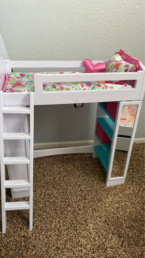 Doll bed and storage for Sale in Corona, CA