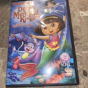 Dora the Explorer: Doras Rescue in the Mermaid Kingdom DVD for Sale in Frankfort, IL