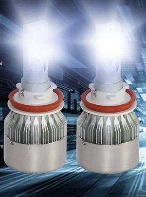 9006 LED headlights ultra white super bright for Sale in San Antonio, TX