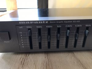 Vintage AudioSource model EQ eight/series 2 graphic equalizer and spectrum analyzer for Sale in Titusville, FL