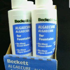 Beckett FP4 *CASE of 6* 4oz ALGAECURE ALGAECIDE Ponds&Fountains Algae Killer for Sale in Virginia Beach, VA
