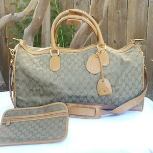 Vintage Gucci Boston Carryall weekender luggage for Sale in Arlington, TX
