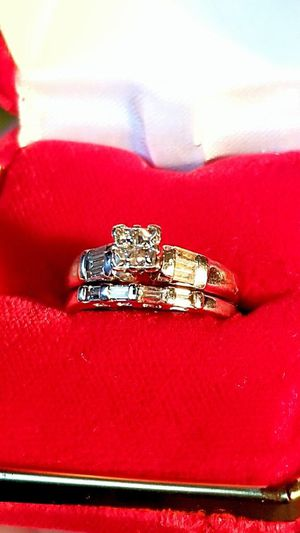 4.5g 18kt White gold engagement/wedding diamond ring for Sale in Concord, CA