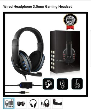 Wired Headphone 3.5mm Gaming Headset for Sale in Philadelphia, PA