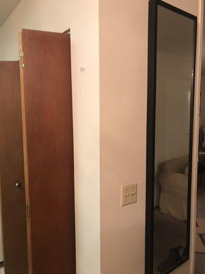 Black IKEA wall mirror for Sale in Portland, OR