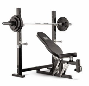 Olympic weight bench for Sale in New Alexandria, PA