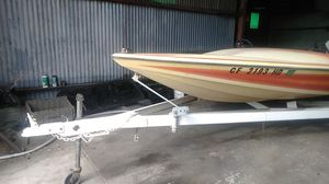 Boat and trailer for Sale in Fontana, CA