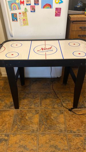 Land of nod air hockey table for kids for Sale in La Grange Park, IL