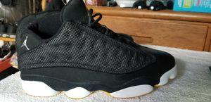 Jordan 13 Low size 9.5 BLK-MAIZE for Sale in Newark, CA