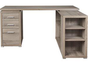 L shaped desk - wooden for Sale in Portland, OR