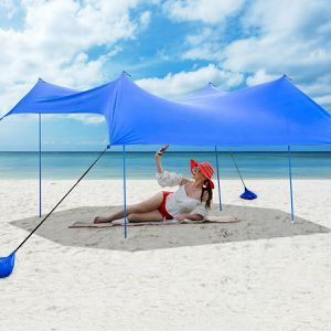 10' x 9' Light Durable Family Beach Tent Canopy Sunshade for Sale in Arcadia, CA