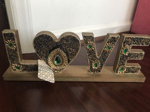 """Beaded """"love """" for Sale in Durham, NC"""