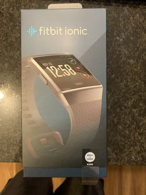 Fitbit Ionic - Like new for Sale in North Oaks, MN
