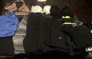 Sport leggings vs,adidas,bag vs,shirt gap,bras pink and vs for Sale in Chicago, IL