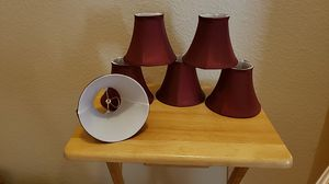 Set of 6 Chandelier Lampshades for Sale in Pflugerville, TX