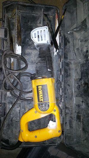 Dewalt Reciprocating Saw for Sale in Salt Lake City, UT