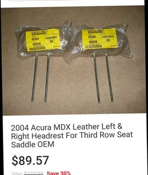 2003 - 2006 Acura MDX New Parts for Sale in Austin, TX