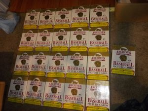 Read the post.....Archives 1953 baseball picture cards(21 boxes) for Sale in Hartford, CT