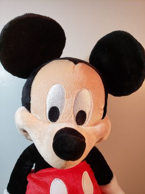 "Mickey Mouse plushie 15"" NWT Disney theme merchandise for Sale in Larned, KS"