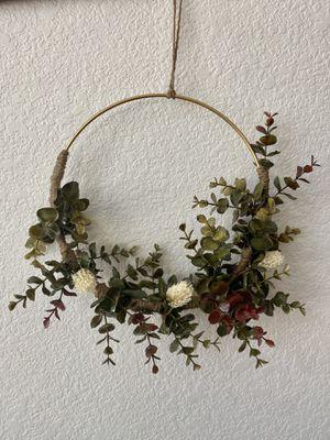 Handmade Ring Wreath Hanger for Sale in Tolleson, AZ