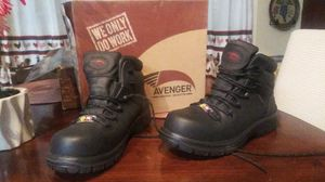 Avenger work Boots 8.5 for Sale in Albuquerque, NM