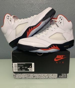 Air Jordan 5 retro fire red for Sale in Brooks, OR