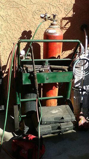 Oxygen Acetylene Welder and Cutter for Sale in Whittier, CA