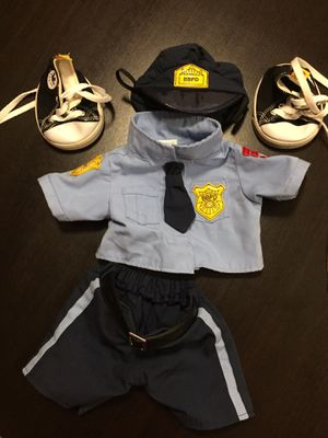 Build a bear police outfit for stuffed animals for Sale in Woodbridge, VA