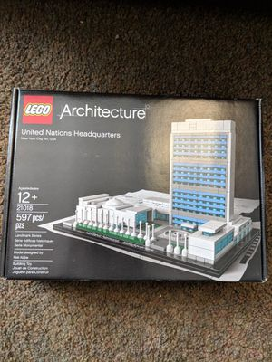 Lego Architecture United Nations Headquarters for Sale in Washington, DC