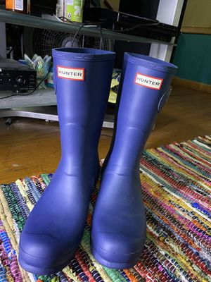 Hunter rain boots for Sale in Milwaukee, WI