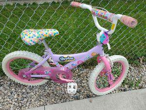 Girls 16in shopkins bike for Sale in Berea, OH