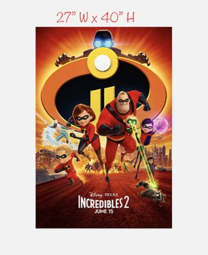 The Incredibles 2 — Poster for Sale in Artesia, CA