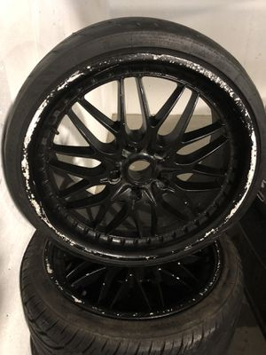 """Black 18"""" rims for Sale in Hingham, MA"""