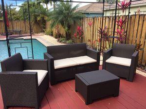 Patio-Outdoor-Italian Modern Furniture NEW for Sale in Miami Springs, FL