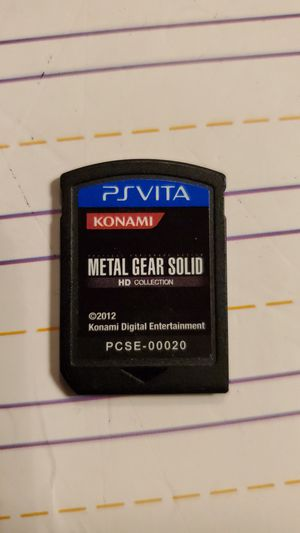 PSVITA Metal Gear Solid, DH Collection for Sale in Plainfield, IL