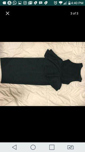 Hunter green v-neck peplum dress for Sale in Washington, DC