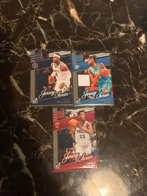 2019-20 donruss nba game worn jersey cards jimmy butler 🔥🏀🔥🏀 for Sale in Van Nuys, CA