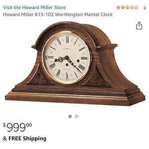 Howard Miller Clock for Sale in Long Beach, CA