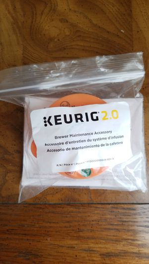 NEW Keurig Brewer maintenance accessory for Sale in Algonquin, IL