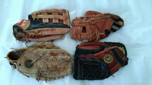 Baseball Glove softball mitt $10 each for Sale in San Leandro, CA