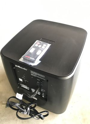 Polk audio wireless subwoofer for Sale in Carlsbad, CA