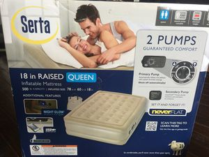 2 Queen Air Mattresses in boxes for Sale in Dallas, TX