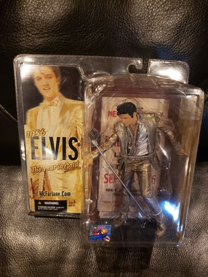The year in gold Elvis Presley figurine for Sale in Metairie, LA