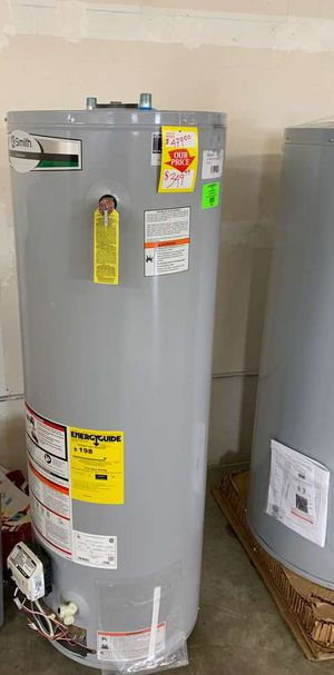 NEW AO SMITH 40 gallon WATER HEATER ECE for Sale in Fort Worth, TX