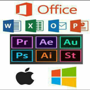 Adobe Photoshop Software, Photoshop CC, Illustrator, Premiere, Final Cut Pro, Microsoft Office and more for Sale in Miami, FL