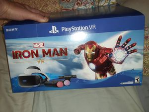 Brand new Iron Man VR headset & Ps4 for Sale in St. Petersburg, FL