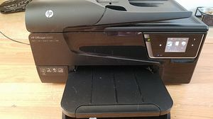 HP Officejet 6600 all-in-one printer, scanner, copier, fax for Sale in Essex, VT