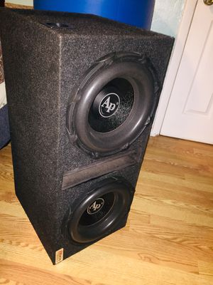 Audio pipe 12 inch 1800 Watts each 2ohms for Sale in Staten Island, NY