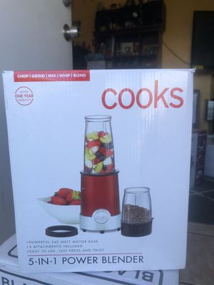 Cooks 5-end 1 power blender for Sale in Palmdale, CA