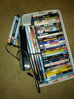 LG DVD Player & DVD'S for Sale in Ontario, CA